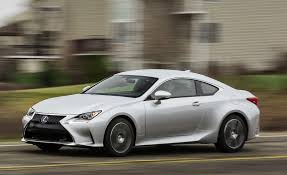 lexus rc 200t 2017 lexus rc turbo rc200t test review car and driver