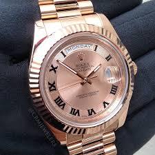 rolex day date ii crm jewelers miami fl