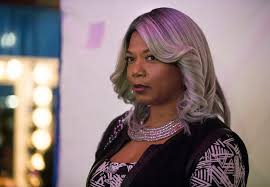 hairstyles for transgender queen latifah on starring in star her many colored wigs the