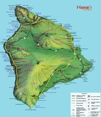 map of hawaii big island highways big island state roads and highways