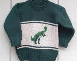 knitting pattern dinosaur jumper dinosaur sweater etsy