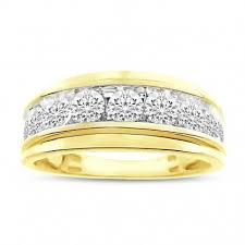 mens yellow gold wedding bands buy discount men s wedding bands online with financing gold
