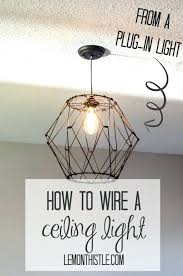 grounding a light fixture how to wire ceiling light installing light fixture how to wire a