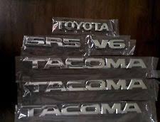 toyota trucks emblem toyota tacoma emblem ebay
