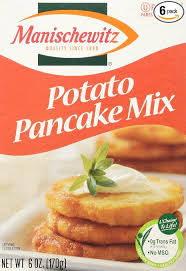 manischewitz potato pancake mix manischewitz potato pancake mix 6 ounce boxes pack of