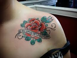 35 flower collar bone tattoos
