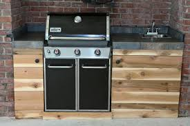 How To Build A Outdoor Kitchen Island Eclectic Recipes Grilled Cedar Planked Salmon And Summer Kitchen