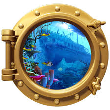 wall decals porthole wall color decal pirate ship wreck 12