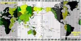 utc zone map zones utc gmt 11
