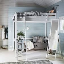 Ikea White Bunk Bed Bedroom Ikea Make Room For A Living Room In Your Bedroom White