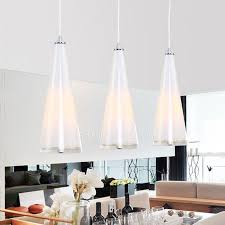 Multi Pendant Light 3 Light Glass Shade Material Pendant Lights With Bedroom