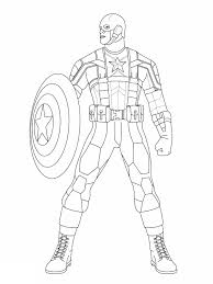 10 coloring pages of captain america first avengers fun coloring