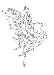 winx club enchantix stella coloring page by winxmagic237 on deviantart