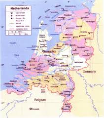 Map Of Holland Van Alderwerelt Family Genealogy