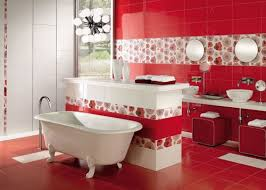 Red Bathroom Designs Colors 43 Bright And Colorful Bathroom Design Ideas Digsdigs