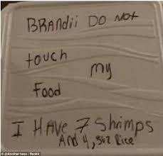 Phone Rice Meme - reddit user writes hilarious note urging housemate not to eat his