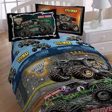 monster jam twin bedding grave digger monster truck