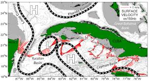 Ocean Currents Map Collaborative Noaa Research Cruise Studies Role Of Ocean Currents