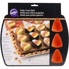 wilton halloween candy molds amazon com wilton 2105 8331 12 cavity silicone candy corn mold