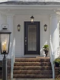 Allen And Roth Light Fixtures by Allen Roth Parsons Field 17 In H Black Outdoor Wall Light Seeded