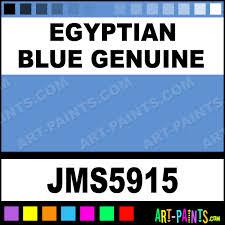 egyptian blue genuine signature watercolor paints jms5915