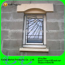 ornamental simple safety window grill design view simple