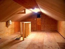 new attic storage with pull down stairs lights shear wal u2026 flickr