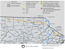 Map Tennessee Tennessee Gas Pipeline Map Delaware Riverkeeper Network