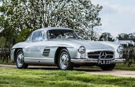 mercedes auction bonhams to auction iconic mercedes 300sl gullwing coupe