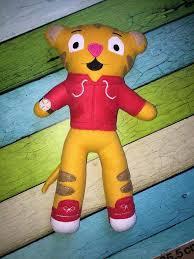 daniel tiger plush toys daniel tiger doll pattern u2013 ofnah