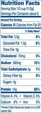 Nutrition Facts For Cottage Cheese by Daisy Low Fat Cottage Cheese Nutrition Facts U2013 Nutrition Ftempo