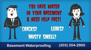 connecticut basement waterproofing 203 204 2900 http