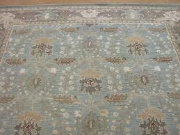 Pottery Barn 8x10 Rug by 8 U0027 X 10 U0027 Pottery Barn Brandon Porcelain Blue Persian Style Wool
