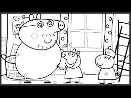 peppa pig doctor episode coloring book pages colored markers