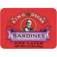 King Oscar Sardines Mediterranean Style - sardines