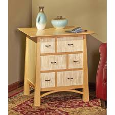 media storage end table woodworking plan from wood magazine