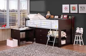 charleston storage loft bed with desk u2014 modern storage twin bed design