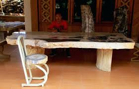 petrified wood dining table table top round stone table tops full size of kitchen top grey and