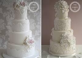 wedding cake lace 25 lace wedding cake ideas stylish