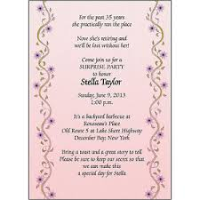 retirement party invitations 25 personalized retirement party invitations rpit 17 vines pink
