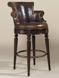 bar stools mahogany swivel barstool by maitland smith bar stools