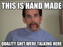 Shit Talking Memes - this is hand made quality shit were talking here happy gilmore