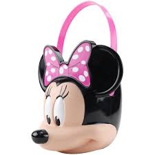 halloween basket disney minnie mouse halloween candy pail walmart com