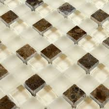 stone glass mosaic tilessmoky mountain square tiles with marble easy install with standard tool and material