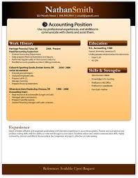 resume format for experienced accountant free download objective free resume template employment history skills education