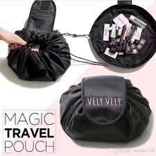 Georgia Travel Pouch images 2018 korea vely vely lazy cosmetic bag large capacity drawstring jpg
