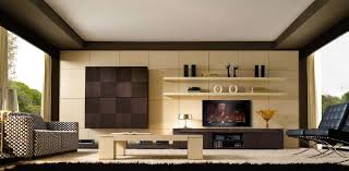 Modern Living Room With Tv On Wall Contemporary Living Room - Modern living room interior design