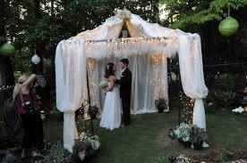 Casual Backyard Wedding Ideas Marriage Can Get Off To Beautiful Start With Wedding At Home Al Com