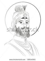 sikh first guru stock vector 399142888 shutterstock
