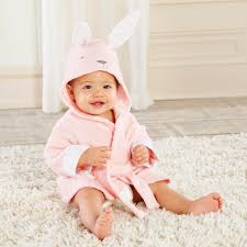 amazon com baby aspen rub a dub hooded spa robe fox in the tub